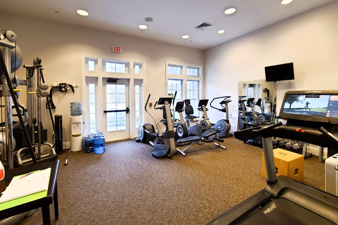 Carolina Colours private residential community exercise fitness room